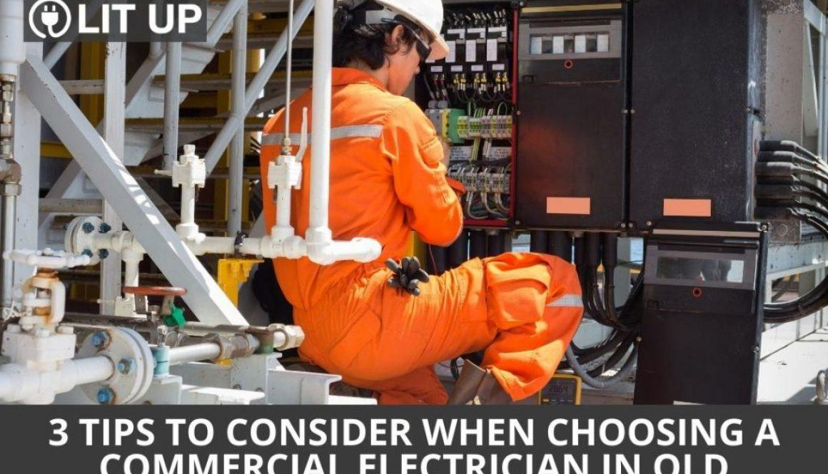 3 Tips to Consider When Choosing a Commercial Electrician in QLD
